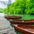 boten · park · Kroatië · pier · water · bos - stockfoto © Fesus