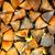 kuru · kıyılmış · yakacak · odun · ahşap - stok fotoğraf © fesus