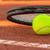 tennisbal · tennis · klei · rechter · sport · zomer - stockfoto © Fesus