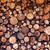 drogen · gehakt · brandhout · klaar · winter · boom - stockfoto © fesus