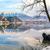 romantica · ripida · rupe · lago · erba · natura - foto d'archivio © fesus