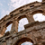 древних · амфитеатр · Хорватия · побережье · Европа · небе - Сток-фото © fesus