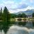 lake bohinj located in the bohinj valley of the julian alps stock photo © fesus