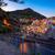 gün · batımı · köy · İtalya · gökyüzü · su · Bina - stok fotoğraf © fesus