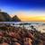 灯台 · 日没 · スペイン · 地中海 · 海 · 水 - ストックフォト © fesus
