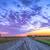 zonsondergang · boerderij · veld · hooi · einde · dag - stockfoto © fesus