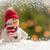 Cute Snowman Over Abstract Snow and Light Background stock photo © feverpitch