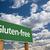 благословение · проклинать · зеленый · дорожный · знак · облака · драматический - Сток-фото © feverpitch