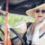 Attractive Woman in Twenties Outfit Driving an Antique Automobil stock photo © feverpitch