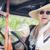 aantrekkelijke · vrouw · twintiger · rijden · antieke · aantrekkelijk · jonge · vrouw - stockfoto © feverpitch