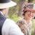 1920 · romántica · Pareja · coquetear · aire · libre · atractivo - foto stock © feverpitch