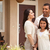 small happy hispanic family in front of their home stock photo © feverpitch