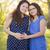 hiszpańskie · córka · baby · kopać · ciąży - zdjęcia stock © feverpitch