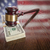 Wooden Gavel Resting on Money with American Flag Reflection stock photo © feverpitch