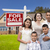 hispanic family new home and for sale real estate sign stock photo © feverpitch