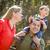 Familie · genießen · Fuß · Park · glücklich - stock foto © feverpitch