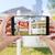 felirat · mobiltelefon · okostelefon · citromsárga · város · szöveg - stock fotó © feverpitch