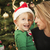 fiatal · anya · baba · fiú · karácsony · portré - stock fotó © feverpitch
