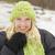 bastante · jovem · mulher · loira · inverno · dia · menina - foto stock © feverpitch