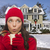 mulher · inverno · roupa · caneca · fora - foto stock © feverpitch