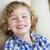 cute · ragazzo · sorridere · seduta · sedia - foto d'archivio © feverpitch