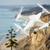 vliegtuigen · lucht · oceaan · kustlijn · hemel · water - stockfoto © feverpitch