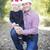 肖像 · 父 · 娘 · 着用 · サンタクロース - ストックフォト © feverpitch