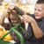 aanbiddelijk · jonge · jongens · spelen · oude · trekker - stockfoto © feverpitch