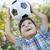 bonitinho · jogar · futebol · parque · ao · ar · livre - foto stock © feverpitch