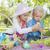 cute · jeunes · frère · soeur · œufs · de · Pâques - photo stock © feverpitch