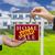 uitverkocht · teken · agent · sleutels · nieuw · huis · onroerend - stockfoto © feverpitch