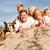 felice · ritratto · di · famiglia · spiaggia · uno · sereno - foto d'archivio © feverpitch