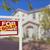 maison · vente · signe · immobilier - photo stock © feverpitch
