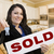 agent · sleutels · uitverkocht · teken · huis · makelaar - stockfoto © feverpitch