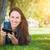 çekici · mutlu · genç · kadın - stok fotoğraf © feverpitch