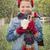koldus · tart · eldobható · csésze · kéz · visel - stock fotó © feverpitch