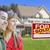 casal · vendido · imóveis · assinar · casa · feliz - foto stock © feverpitch