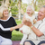 abuelos · nietos · picnic · mujer · familia - foto stock © feverpitch