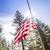 dramatic half mast american flag stock photo © feverpitch
