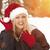 aantrekkelijk · jonge · vrouw · hoed · koud · winter - stockfoto © feverpitch