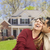 Happy Mixed Race Couple in Front of House stock photo © feverpitch