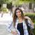 混血 · 女性 · 学生 · 学校 · キャンパス · 魅力的な - ストックフォト © feverpitch