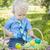 cute · peu · garçon · œufs · de · Pâques · à · l'extérieur - photo stock © feverpitch