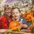 glücklich · Familie · Kürbis · Patch · Ernte - stock foto © feverpitch