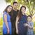 gelukkig · aantrekkelijk · latino · familie · zwangere · moeder - stockfoto © feverpitch