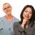 médico · enfermeira · paciente · resultados · torso · tiro - foto stock © feverpitch