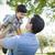 filho · pai · jogar · juntos · parque · família - foto stock © feverpitch