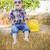 młodych · chłopca · śmiechem · okulary - zdjęcia stock © feverpitch