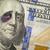 black eyed ben franklin on new one hundred dollar bill stock photo © feverpitch