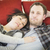 feliz · casal · casa · belo · menina - foto stock © feverpitch